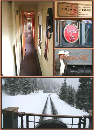 The Virginia City Rail Car